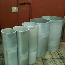 Переходной вакуумный рукав для бетонных заводов