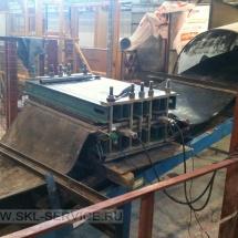 Вулканизация конвейерной ленты на территории заказчика